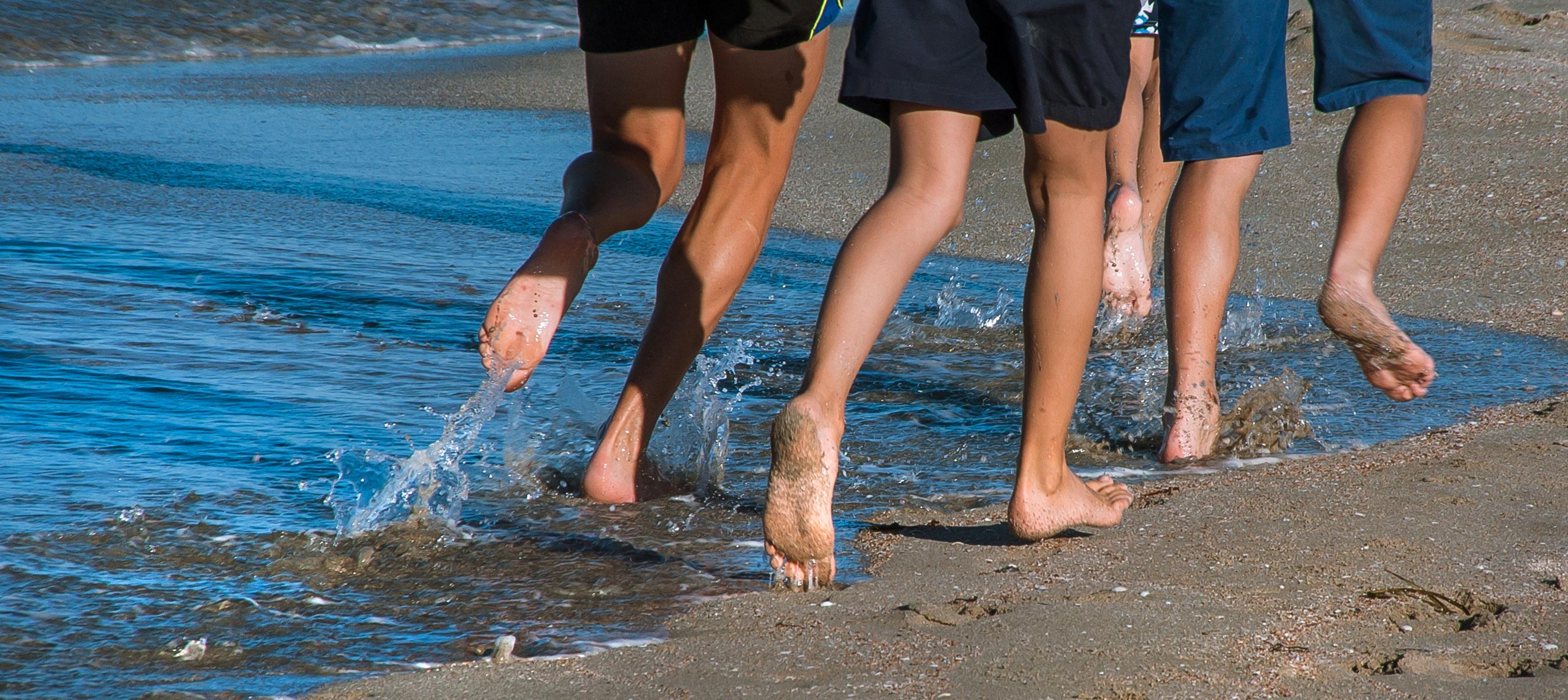 gesunde Füße ohne Schuhe